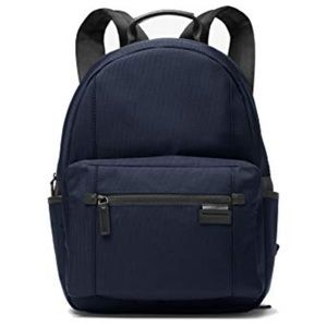 Michael Kors Mens Travis Blue Backpack